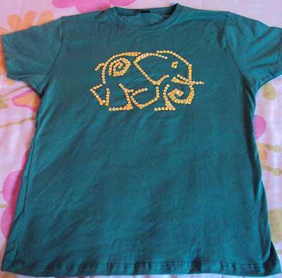 Imagens de Camisetas Bordadas