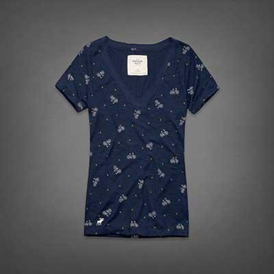 8c604097be 25 Camisetas Femininas da Hollister Original e Falsificada