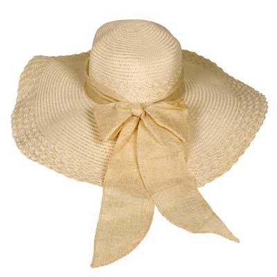 chapéis femininos de palha