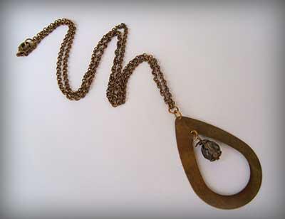 modelo de colar feminino da moda