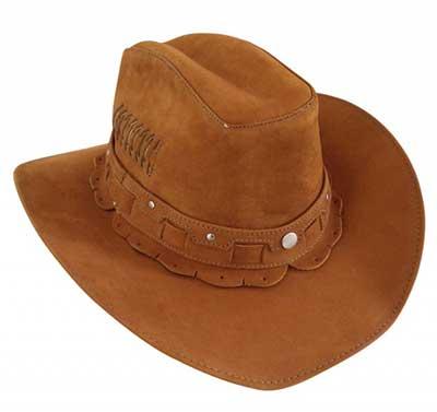 chapéis de couro femininos