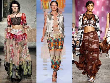 modelos de roupas ciganas