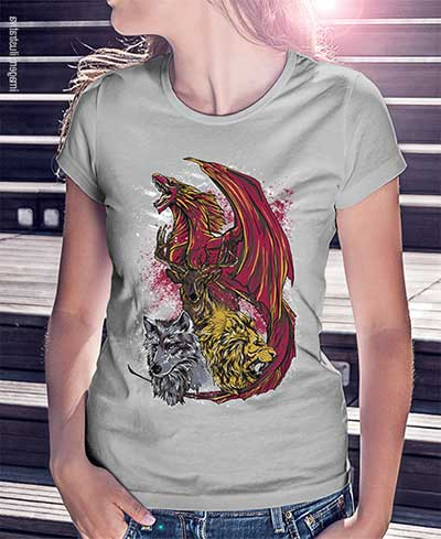 Fotos de camisetas do game of thrones
