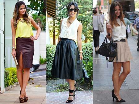 dicas de como usar saias rodadas