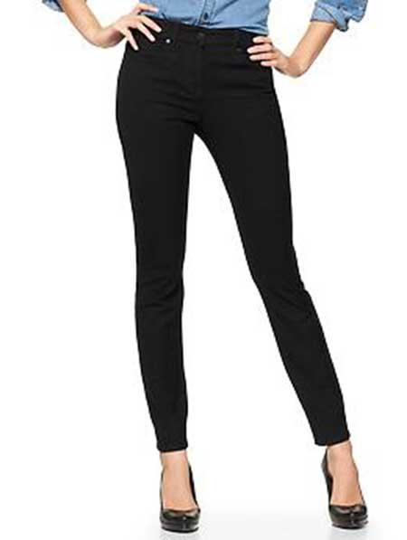 calças pretas jeans