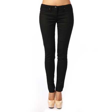 modelos de calças pretas skinny