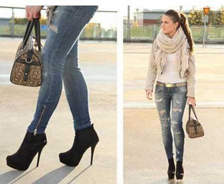 cc4e40e1a dicas e modelos. As botas também incrementam o look com a calça jeans ...