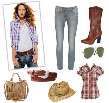ideias da moda country