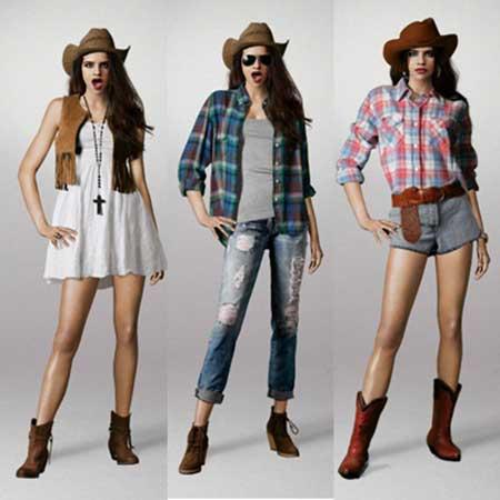 6e6cd2089fbf7 Como Usar Roupas Country Femininas da Moda  Fotos e Dicas
