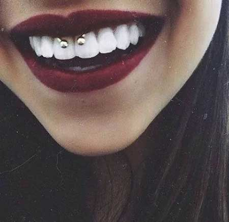 imagens de piercings na boca