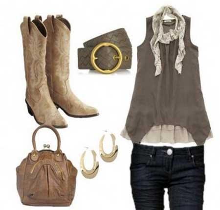 dicas de roupas da moda country