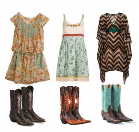 roupas da moda country