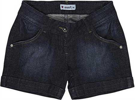 modelos de short jeans
