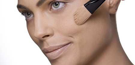 base para pele com acne