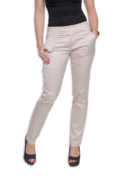 fotos e modelos de calças de sarja