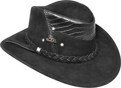 fotos de chapéis de couro