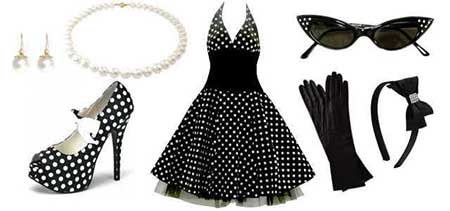 imagens de roupas anos 60