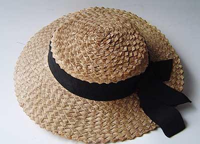 como usar chapéu de palha