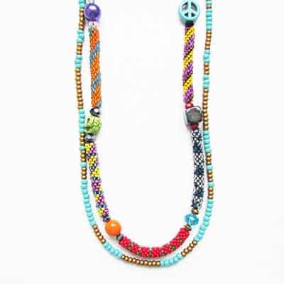 fotos de colares hippies