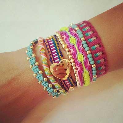 pulseiras hippies