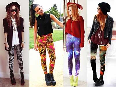 fotos de calças legging