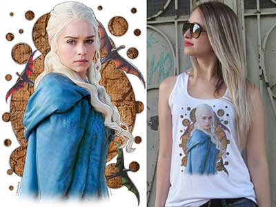 camisetas do game of thrones
