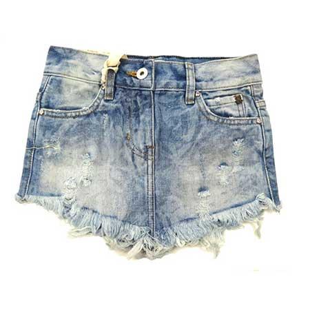 saia jeans de bico