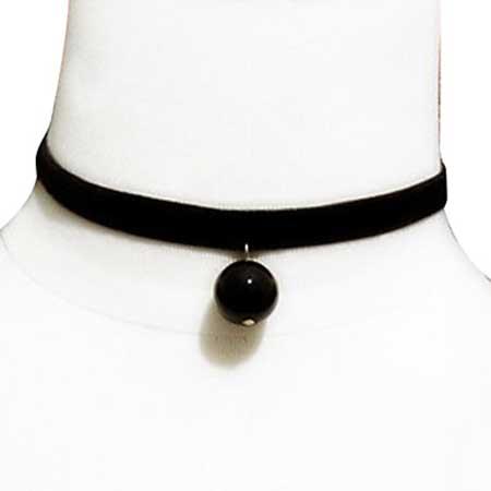 imagens de colares pretos