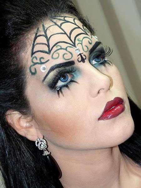 maquiagens para dia das bruxas