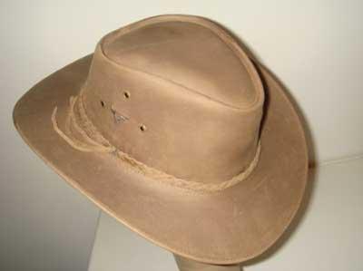foto de chapéu de couro