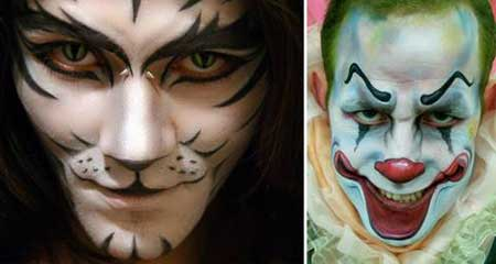 maquiagem para halloween