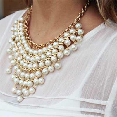 fotos de colares da moda