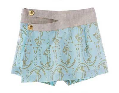 short saia feminino