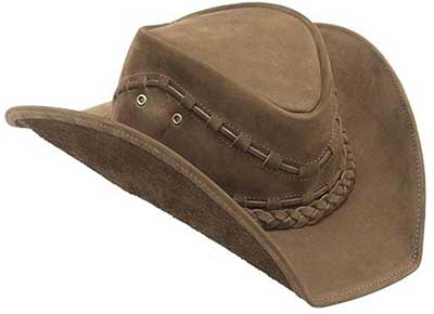 imagem de chapéu de couro