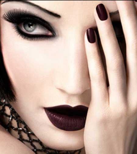 imagens de maquiagem para halloween