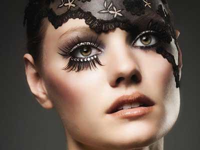 foto de maquiagem artística
