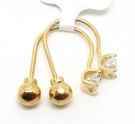 fotos de piercings de ouro