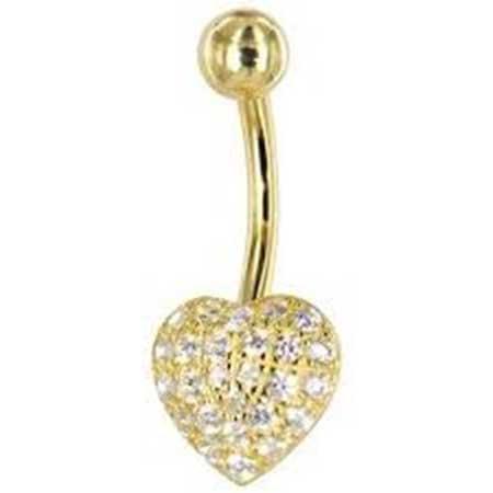 piercings de ouro