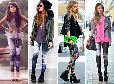 calças legging