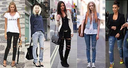 imagens de looks com calça jeans