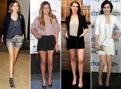 shorts sociais