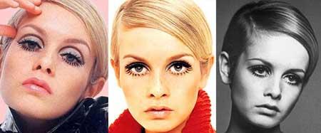 fotos de maquiagem anos 70