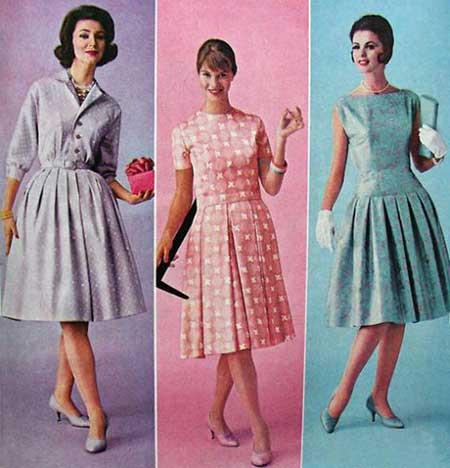 roupas anos 60 femininas