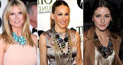 modelos de colares da moda