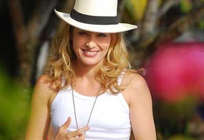 chapéu de couro feminino