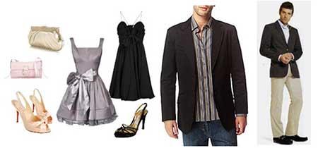 trajes femininos