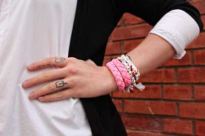 como fazer pulseiras