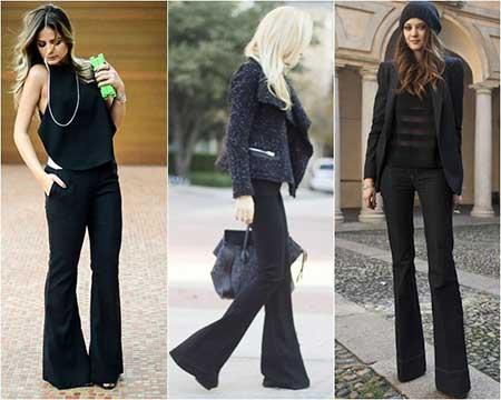 modelos de looks com calças