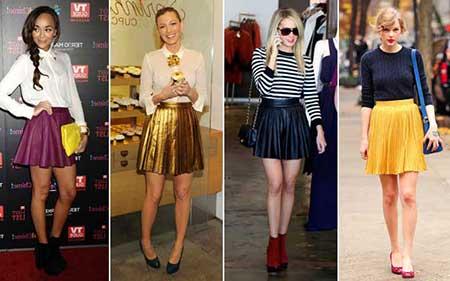 modelos de saia curta