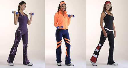 fotos de roupas de academia
